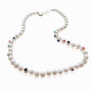 L'ArcoBaleno Pearl Necklace by Nektar De Stagni