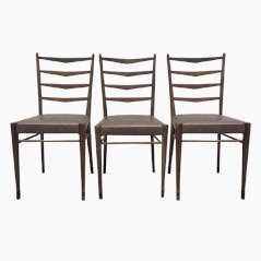 ST 09 Dining Chair by Cees Braakman for UMS Pastoe, 1950s, Set of 3