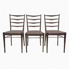 ST 09 Esszimmerstühle von Cees Braakman für UMS Pastoe, 1950er, 3er Set