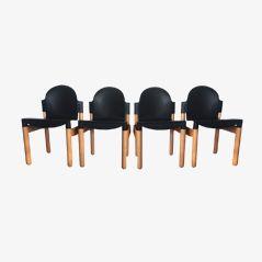 Flex Esszimmerstühle von Gerd Lange für Thonet, 1980er, 4er Set