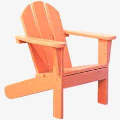 Chaise pour Enfant Style Adirondack, 1970s