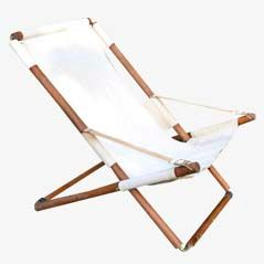 Mid-Century Teak Deck Chair