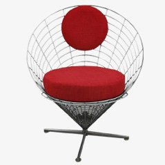 Wire Cone Chair by Verner Panton for Plus Linje