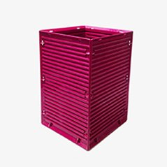 Sistema 45 Waste Paper Bin by Ettore Sottsass for Olivetti Synthesis, 1973