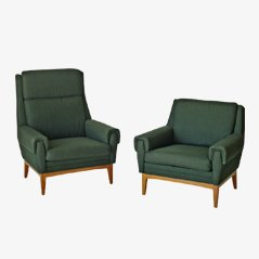 Mid Century Armchairs, 1960s, Set of 2