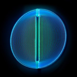 Thanks for the Planets Light Sculpture in BlueGreen by Arnout Meijer Studio