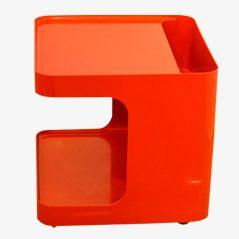 Roter Rollwagen von M. Siard für Game, 1970er