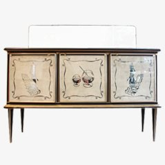 Bar Credenza by Umberto Mascagni for Mascagni Co. Bologna, 1950s