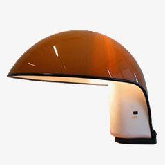 Vintage Albanella Tischlampe von Sergio Brazzoli und Ermanno Lampa für Harvey Guzzini