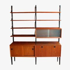 Mid-Century Wall Unit by Louis van Teeffelen for Wébé