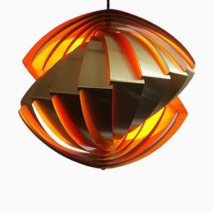 Modell Conch Hängelampe von Louis Weisdorf für Lyfa, 1960er