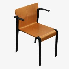 A360 Stacking Chair by J. de Haan and J. Verbrugge for Ahrend