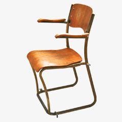 Chaise d'Ecole Empilable par Sjoerd Schamhart