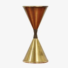 Brass Uplight by Angelo Lelli for Arredoluce