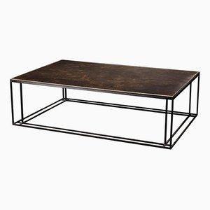 Table Basse Binate en Laiton par Richy Almond pour NOVOCASTRIAN