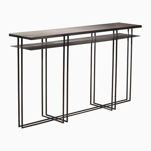 Cross Binate Console Table by Richy Almond for NOVOCASTRIAN