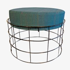 Wire Stool by Verner Panton for Plus Linje, 1950s