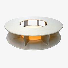 Table Basse Bazaar Vintage Rotative Eclairée par Superstudio pour Giovannetti