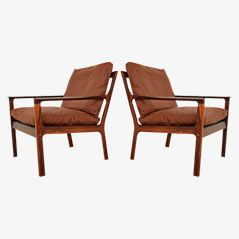 Rosewood Lounge Chair by Fredrik A Kayser for Vatne Möbler, 1960s