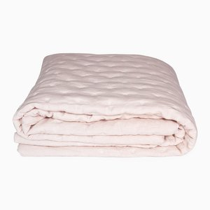 Edredon Tufted Rose Linen Quilt Rose en Lin by Once Milano