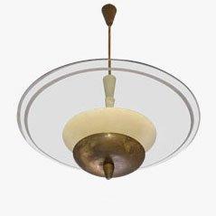 Vintage Italian Pendant Lamp from Fontana Arte, 1950s
