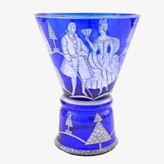 Vintage Goblet by Josef Hoffmann for Wiener Werkstätte