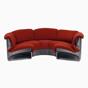 Vintage Pantonova Sofa by Verner Panton, 1970s 11 parts