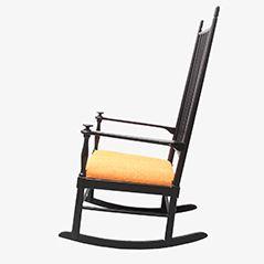 Rocking Chair de Gemla, Suède, 1950s