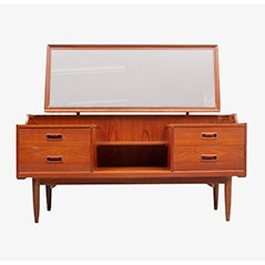 Mid Century Teak Dressing Table, 1950s