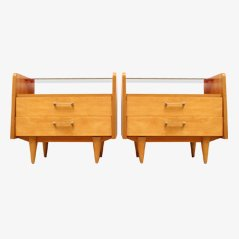 Mid Century Duo XS Chest of Drawers, 1950s, Set of 2
