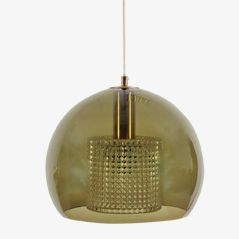 Mid-Century Pendant Light by Carl Fagerlund for Orrefors
