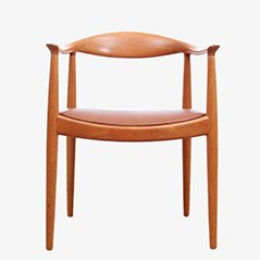 Scandinavian The Chair Armchair by Hans J. Wegner for Johannes Hansen