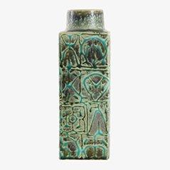 Grüne Skandinavische Baca Vase von Nils Thorsson für Royal Copenhagen