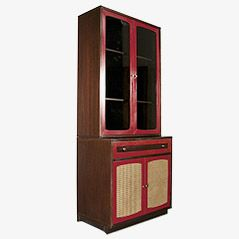 Vintage Italian Red Cabinet