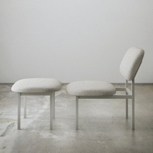 Re-Imagined Low Chair in Grau von Nina Tolstrup