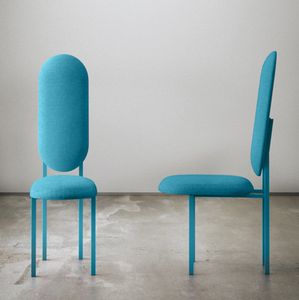 Re-Imagined Chair 01 Originale Bleue par Nina Tolstrup