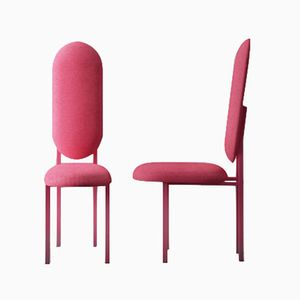 Re-Imagined Original Chair 01 in Pink by Nina Tolstrup