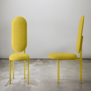 Re-Imagined Original Chair 01 in Yellow by Nina Tolstrup