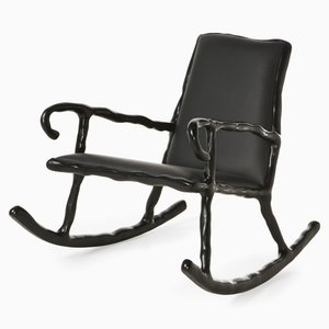 Clay Rocking Chair by Maarten Baas