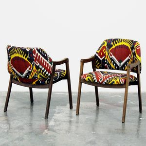 Pair of Armchairs (Model 814) by Ico Parisi