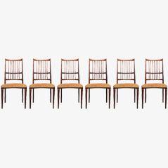 Cortina Dining Chairs by Svante Skogh, Set of 6