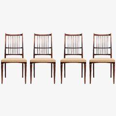 Cortina Dining Chairs by Svante Skogh, Set of 4