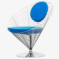 Wire Cone Stuhl von Verner Panton für Fritz Hansen
