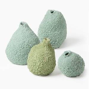 Else Moss Vases by Michal Fargo, Set of 4