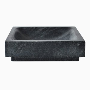 Small Square Tray in Gray by Michaël Verheyden