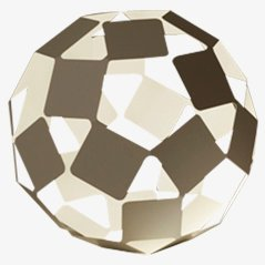 Tanzende Quadratische Lampe, Groß
