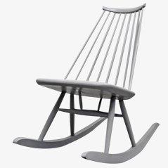 Rocking Chair Mademoiselle par Tapiovaara pour Asko, 1956