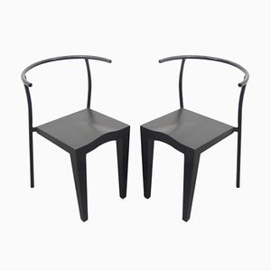 Wonderful Vintage Dr. Glob Chairs By Philippe Starck For Kartell, 1988
