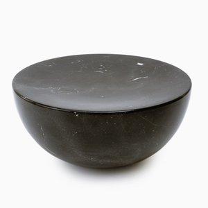 Black Marble Meditation Stool by Michael Anastassiades
