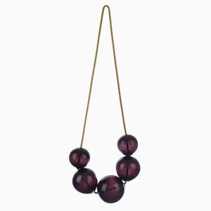 Small Black Bubbles Wall Hanging by LaLouL / Corinne van Havre